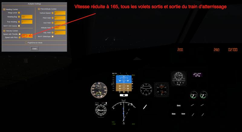 Tuto approche et atterrissage ILS Captur17