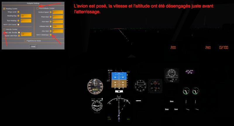Tuto approche et atterrissage ILS Captur20