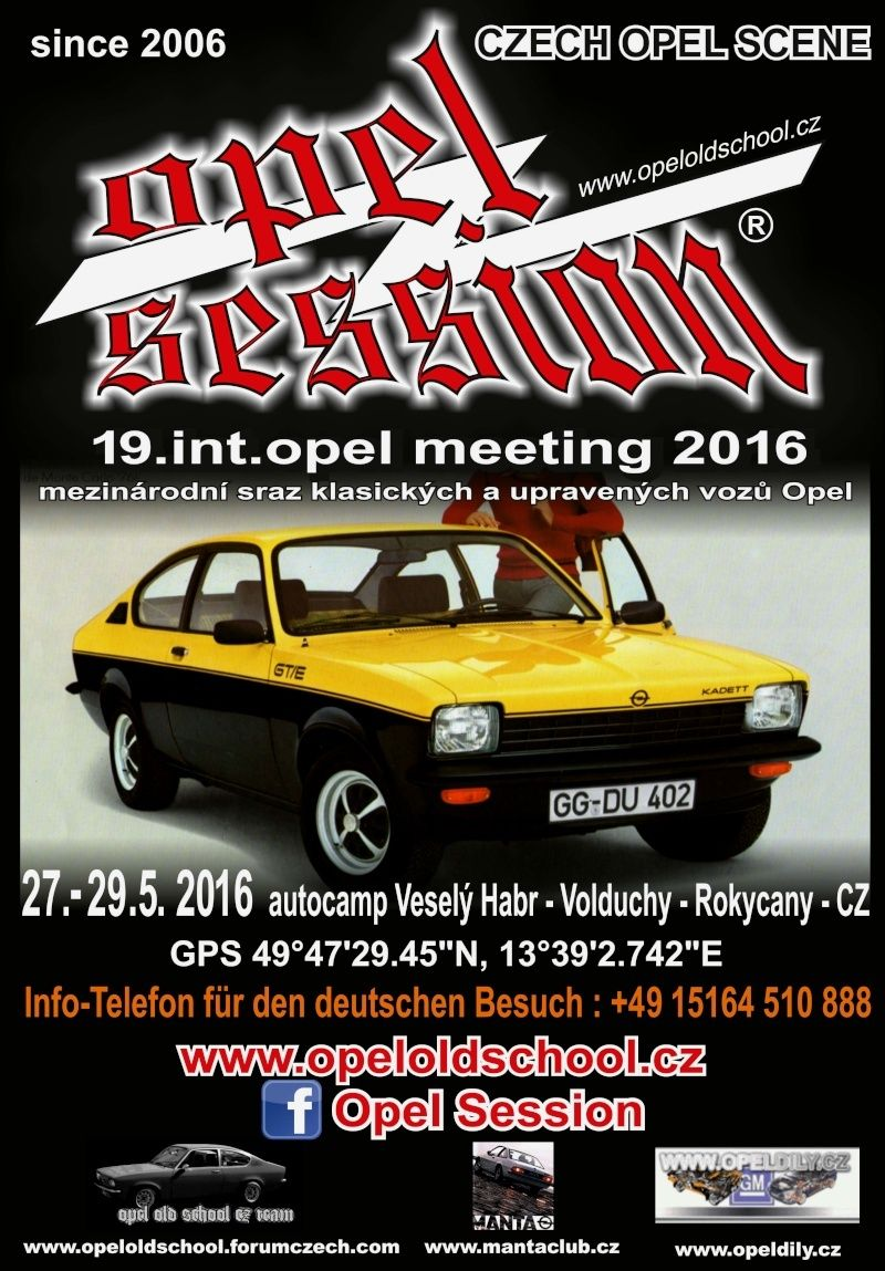 19. OPEL SESSION 5/2016 - Int. Opel Meeting 27.-29.5.2016 1910
