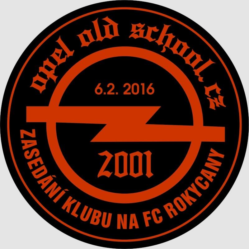 Novoroční zasedání klubu OPEL OLD SCHOOL CZ TEAM 2016 Samole10