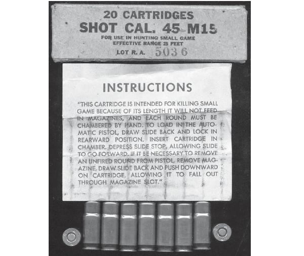 cartouche calibre 45 M15 45m15110