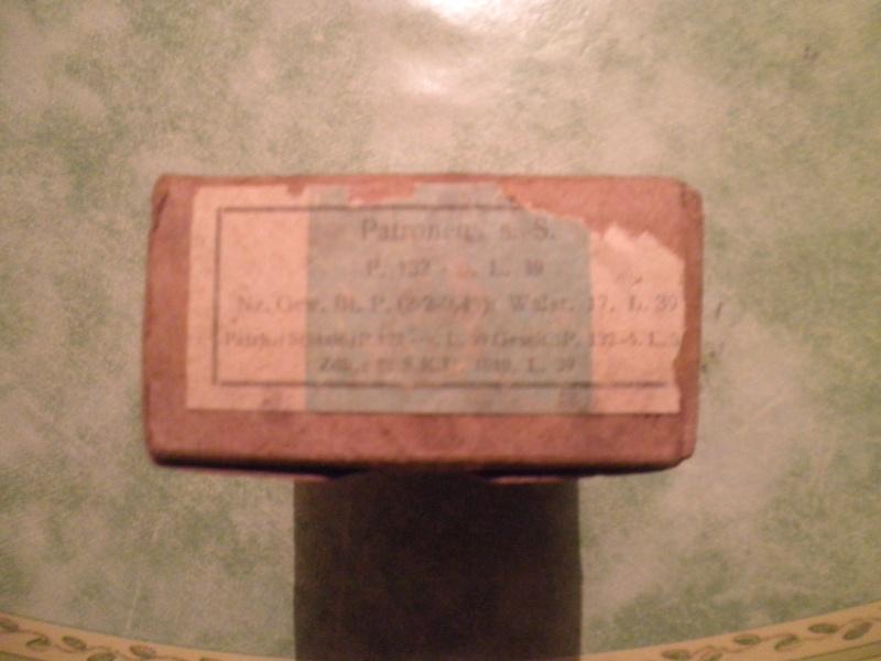 Cartouche 7,92 mauser sans marquage P1220110