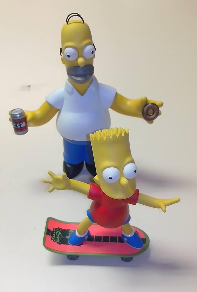 Homer et Bart Simpson Homer_11