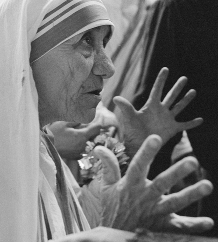 Mother Teresa's hands Mother10