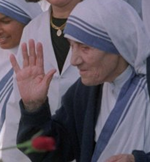 Mother Teresa's hands Mother13