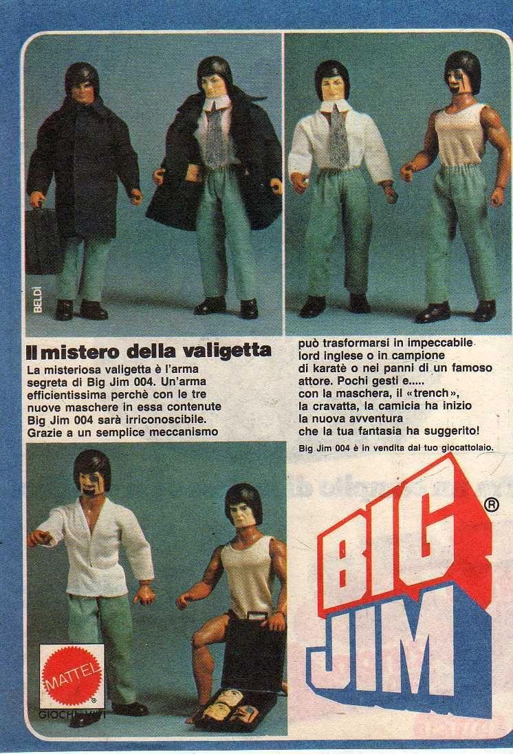 PUBBLICITA'  ITALIANE  DEL PERIODO SPIONAGGIO 1982 - 84 004_bl10
