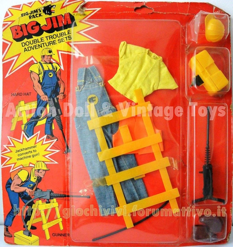 "Big Jim's P.A.C.K. Double trouble adventure sets ""Hard hat Gunner""  No. 9341 Hard_h10"