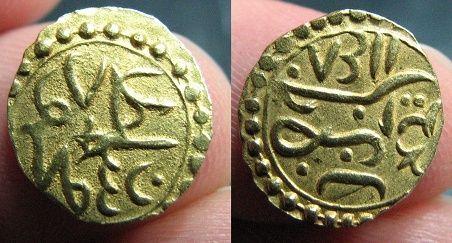 Otomana, de Mahmud I (1730-1754/1143-1168H) del año 1148H, ceca Jaza'ir (Argelia). Cua10