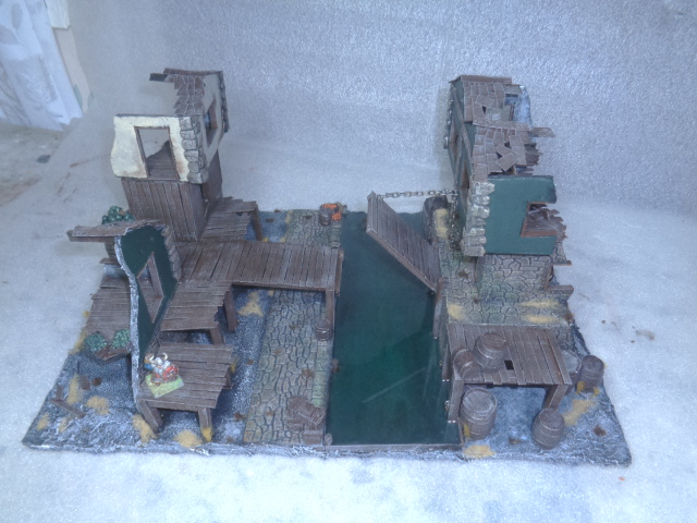 ruined house, canal & working bridge Cool111