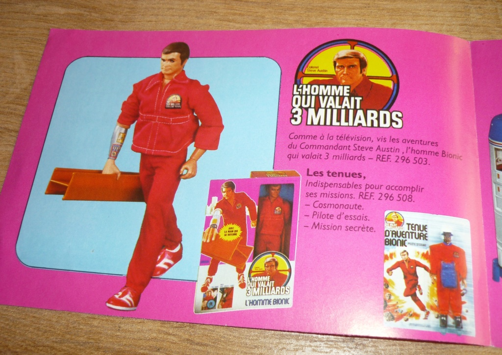 The Six Million Dollar Man /The Bionic Woman Kenner 1975-1978. - Page 3 P1750929