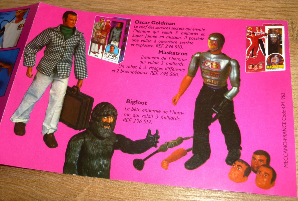 The Six Million Dollar Man /The Bionic Woman Kenner 1975-1978. - Page 3 P1750932