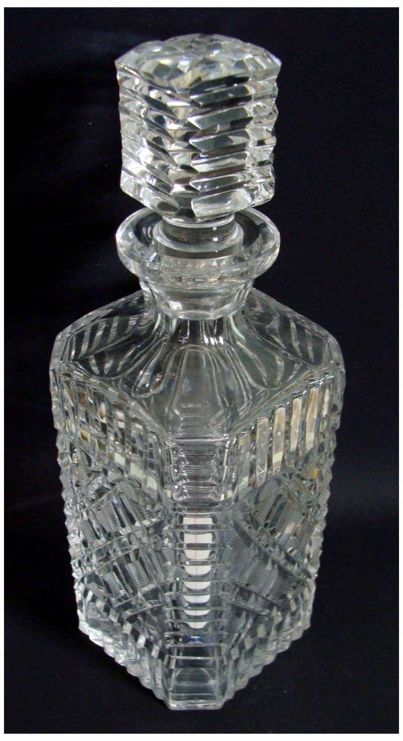 Does anyone know anything about lead crystal decanters ?  110