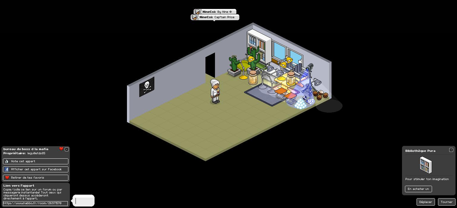 [ NineCsi ] Saccage du bureau du boss d la mafia Saccag11