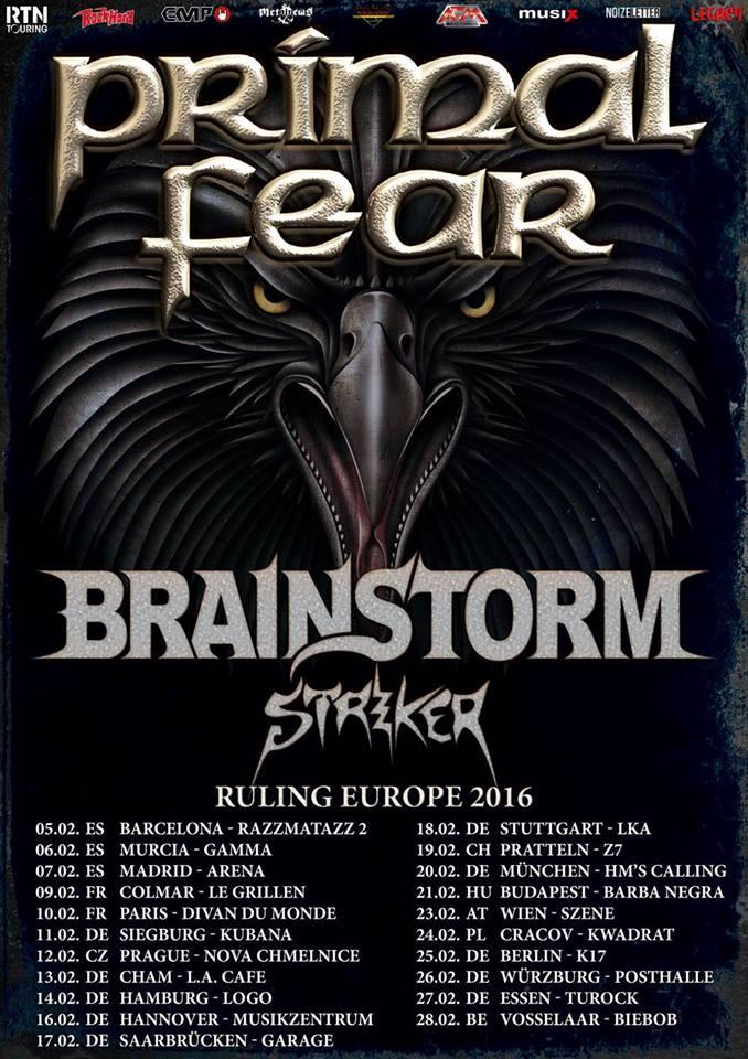 PRIMAL FEAR - BRAINSTORM - STRIKER  à Colmar 09/02/2016 Primal10