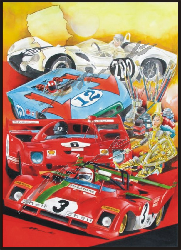 le sport auto  et l'art - Page 32 Tavola10
