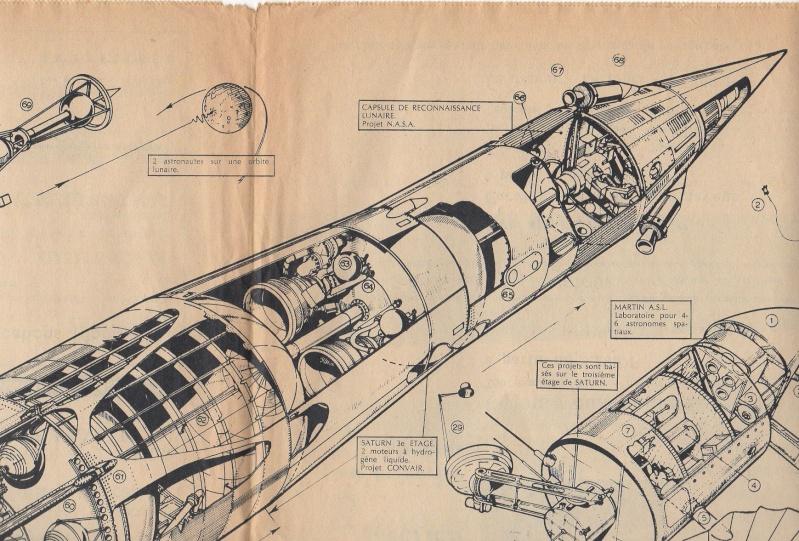 Capsule lunaire lancée par une Saturn C1 Saturn10