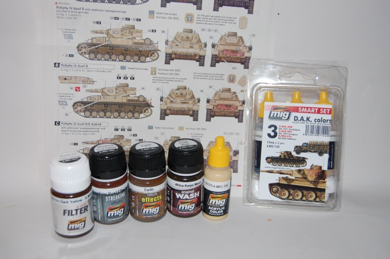 Panzer IV Africa Korps - Tamiya - 1/35 Dsc_6120