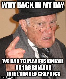 So FusionFall Retro Ycxbd10
