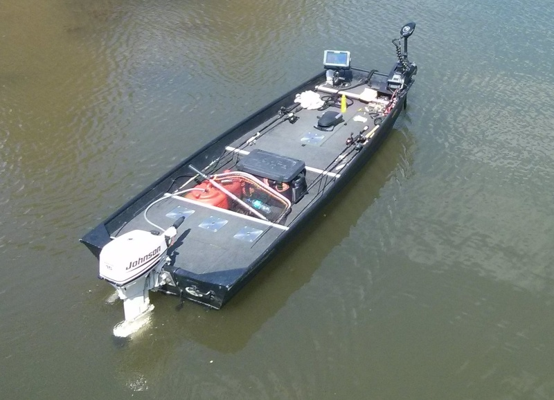 Vends Bateau Alumacraft 1236 + remorque tt équipé! Boat110