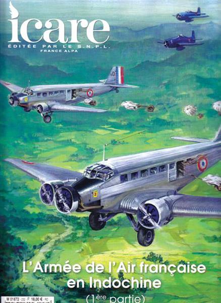 Icare n°232 et 234 L'armée de l'air Française en Indochine Ica23210