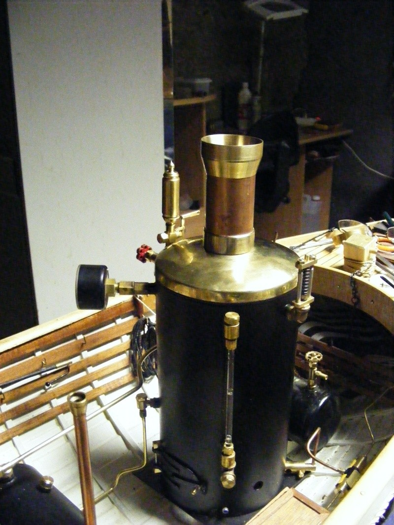 Fabrication d'une chaudière verticale 00114