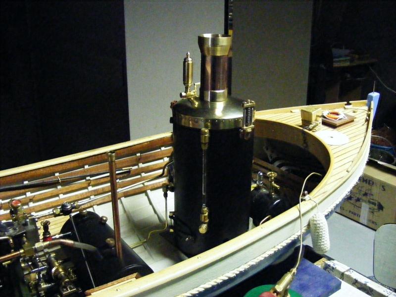 Fabrication d'une chaudière verticale 00115