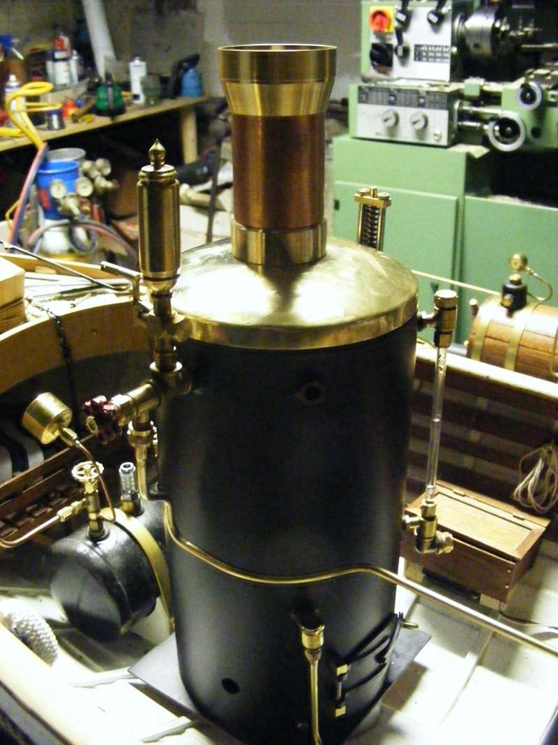 Fabrication d'une chaudière verticale 00211