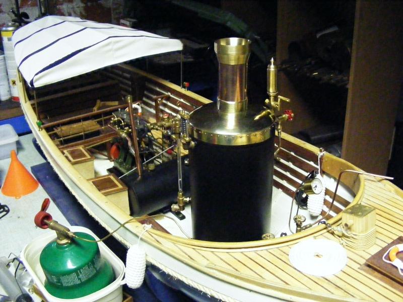 Fabrication d'une chaudière verticale 00212