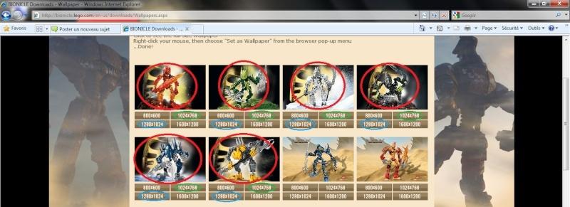[Blog] Personnaliser votre Windows 7 en PC Fan de Bionicle Sdf10