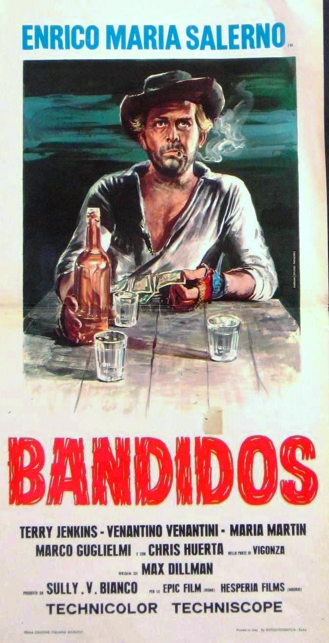 Bandidos - Crepa tu… che vivo io - 1967 - Massimo Dallamano (Max Dilman) Bandid10