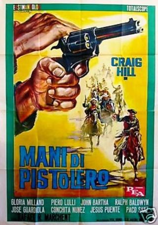 Dans les Mains du Pistolero - Ocaso de un Pistolero - Rafael Romero Marchent - 1965 Mani_d10