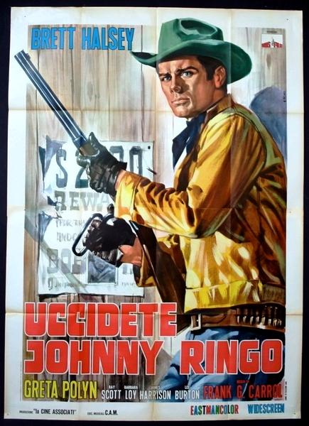 Tuez Johnny Ringo ( Uccidete Johnny Ringo ) – 1966 - Gianfranco BALDANELLO Uccide10