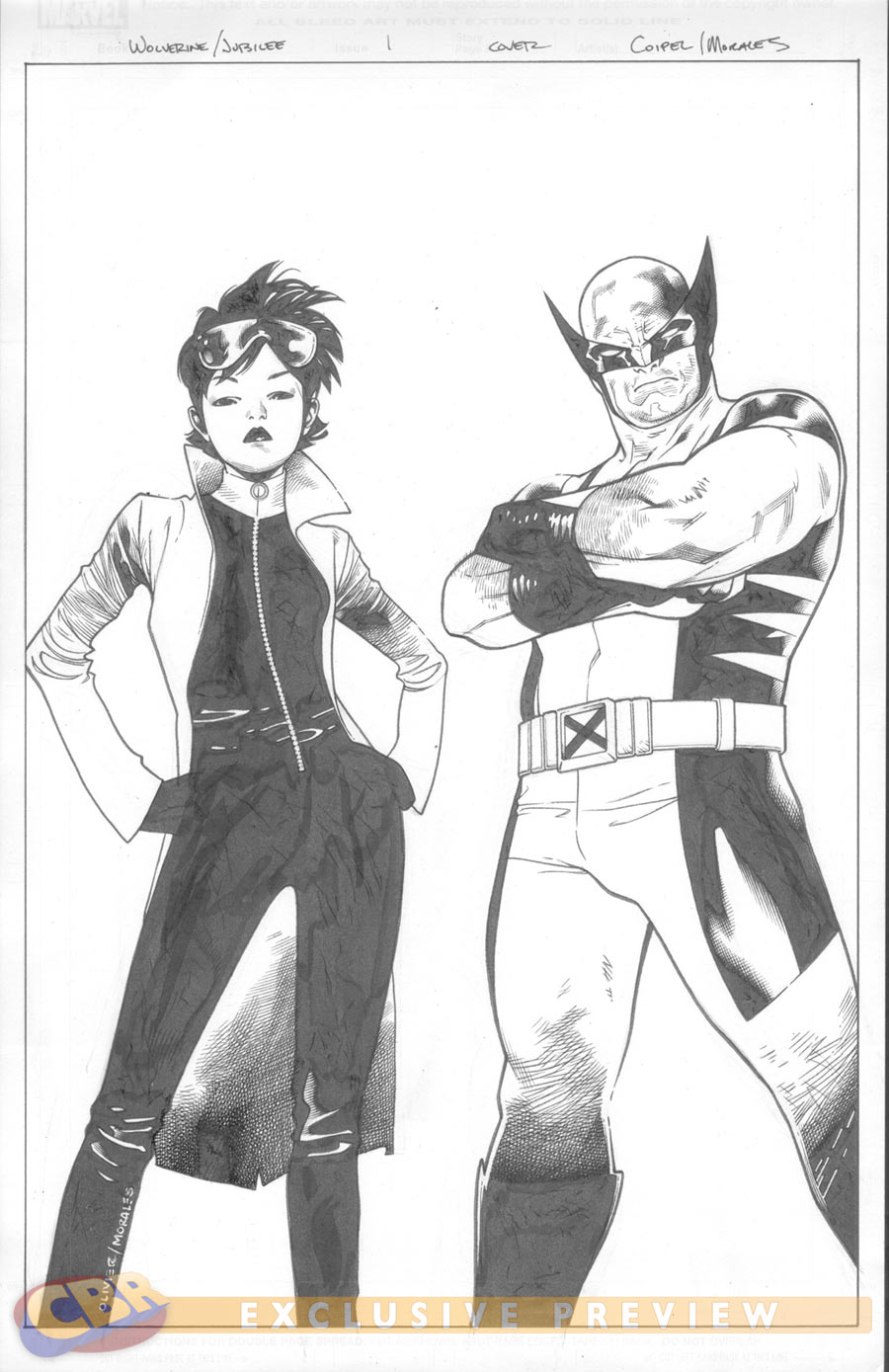 Wolverine and Jubilee #1 (of 4) 12912310