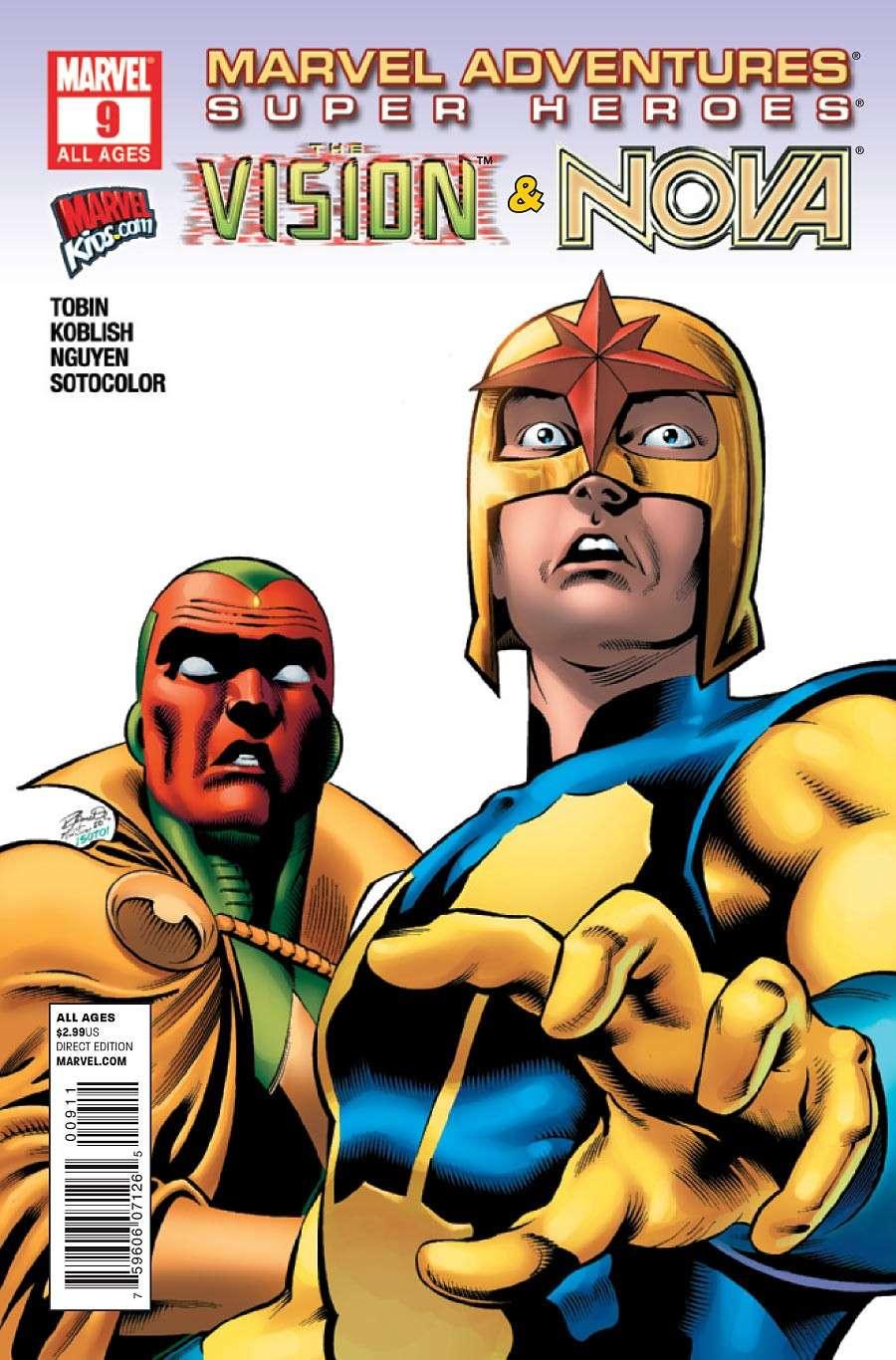 Marvel Adventure Super Heroes #9 Prv71618