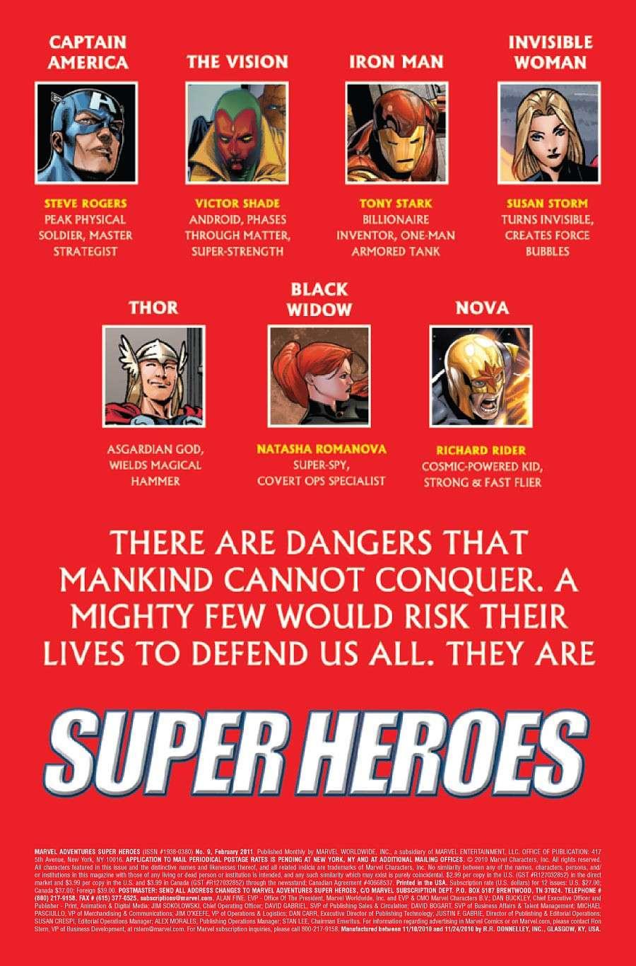 Marvel Adventure Super Heroes #9 Prv71619