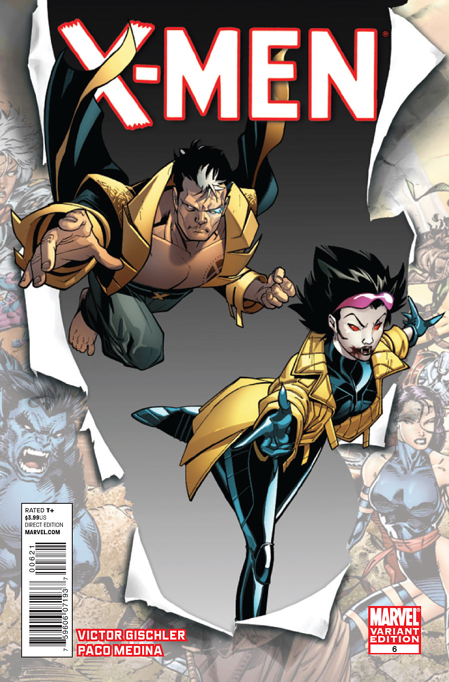 X-Men #6 Prv72742