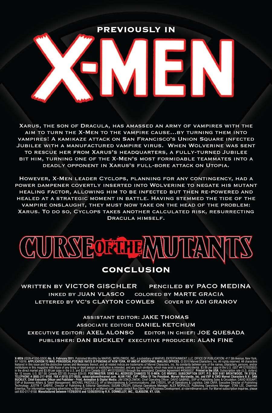 X-Men #6 Prv72743