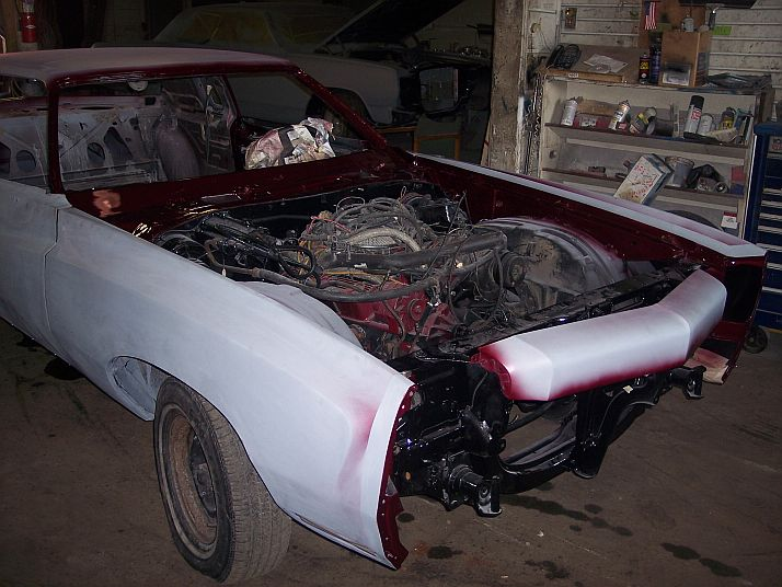 1974 Monte Carlo engine & engine bay restoration. 70608_11