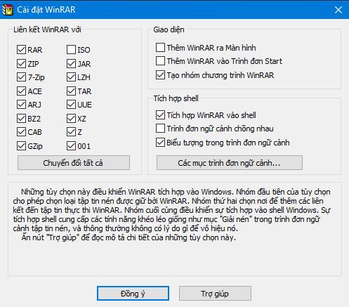 Phần mềm nén và giải nén WinRAR 5.30+key active Winrar10