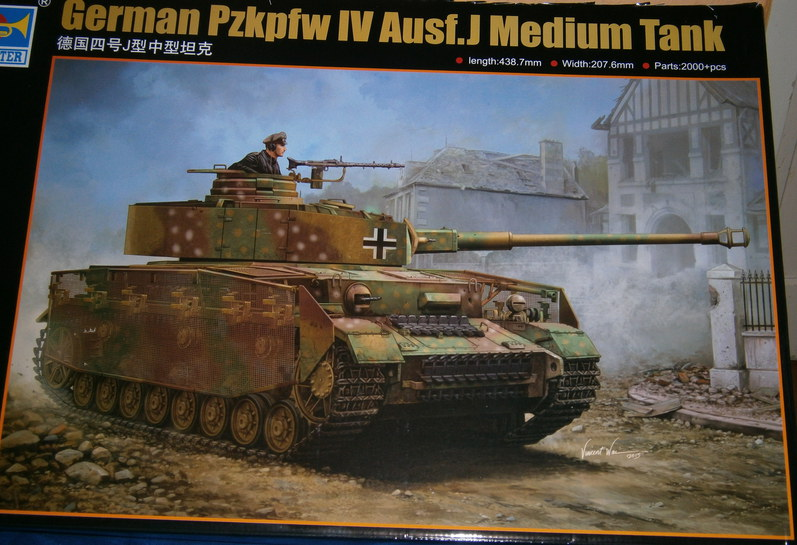 Panzer IV  1:16  Trumpeter P1230012