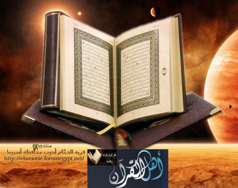 وخاصته - أهل القرآن  وخاصته .؟   411