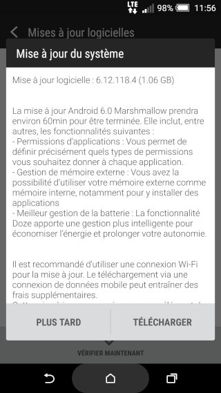 [OTA] Android 6 Marshmallow arrive sur le M8 ! Screen10