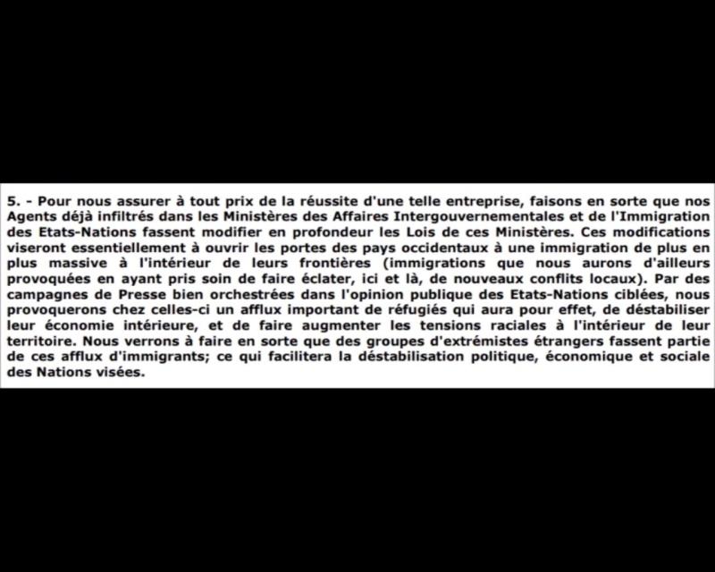 Preuves de la conspiration judéo-maçonnique mondialiste concernant l'immigration-invasion incontrôlable pour détruire la France et l'Europe. Migran10