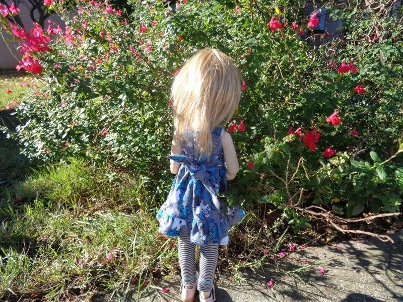 Camille, au soleil, dans une nouvelle tenue de Léoniepimpon Dsc01610