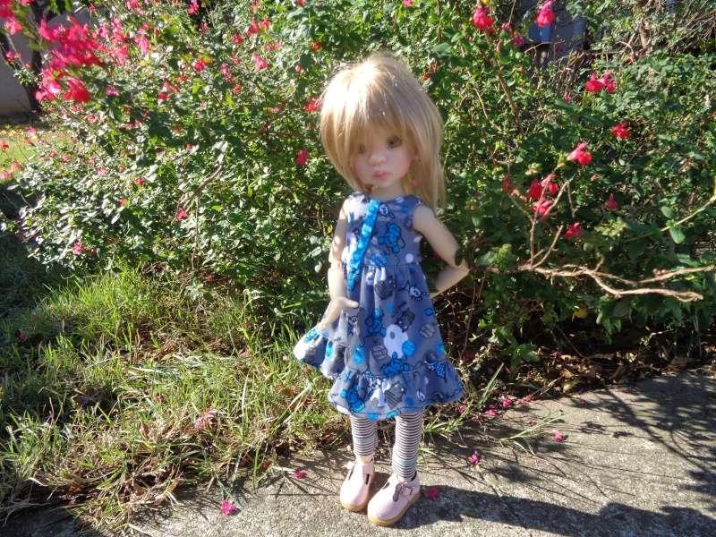 Camille, au soleil, dans une nouvelle tenue de Léoniepimpon Dsc01613