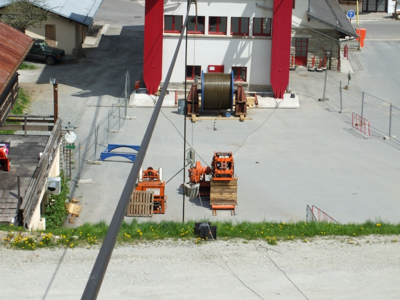 Remplacement cables téléphérique de Bellevue 2008 Dscf1511