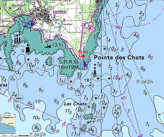 Phare de la pointe des Chats - Groix Pointe14
