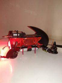 Présentation de mon ZMR250 Red aliene 12366510