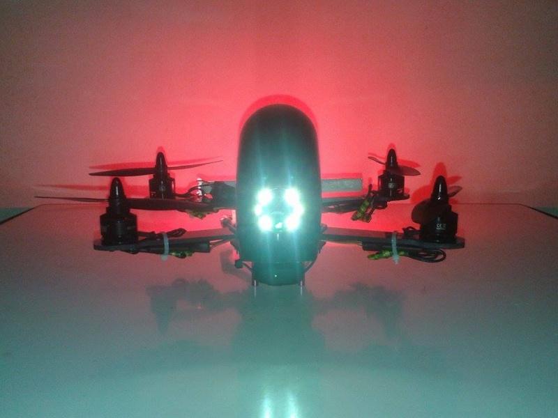 Présentation de mon ZMR250 Red aliene 12366910