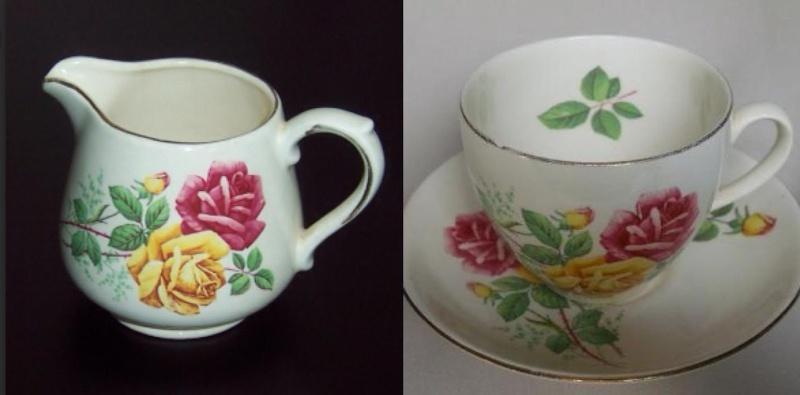 Bouquet British, pattern and backstamp Bouque11